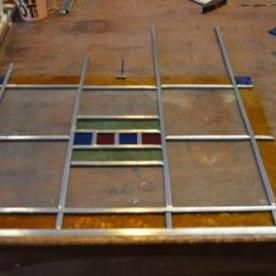resultaat workshop glas in lood